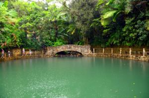 El Baño Grande fue construido en el 1933 y es conocida por ser un complejo balneario. (Tomada: Somnathdatta)