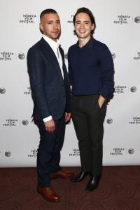 """Dan Sickles y Antonio Santini directores del documental """"Mala Mala"""" se dieron cita en el Tribeca Film Festival, Nueva York. (Tomada de Zimbio.com)"""