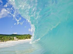 Playa flamenco, Una de las 10 mejores playas del mundo según tripadvisor, ubicada en el municipio de Culebra, Puerto Rico (tomada de boriken365.com)