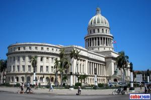 Vista del Capitolio en la Habana, Cuba (tomada de dossier.com.mx)