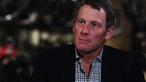 Lance Armstrong durante entrevista luego de haber confesado su uso de drogas (BBC)