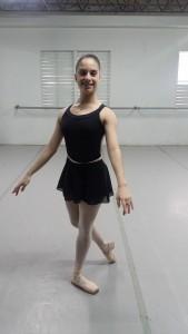 Patricia Colón García, bailaride de Ballet Teatro Nacional de Puerto Rico.