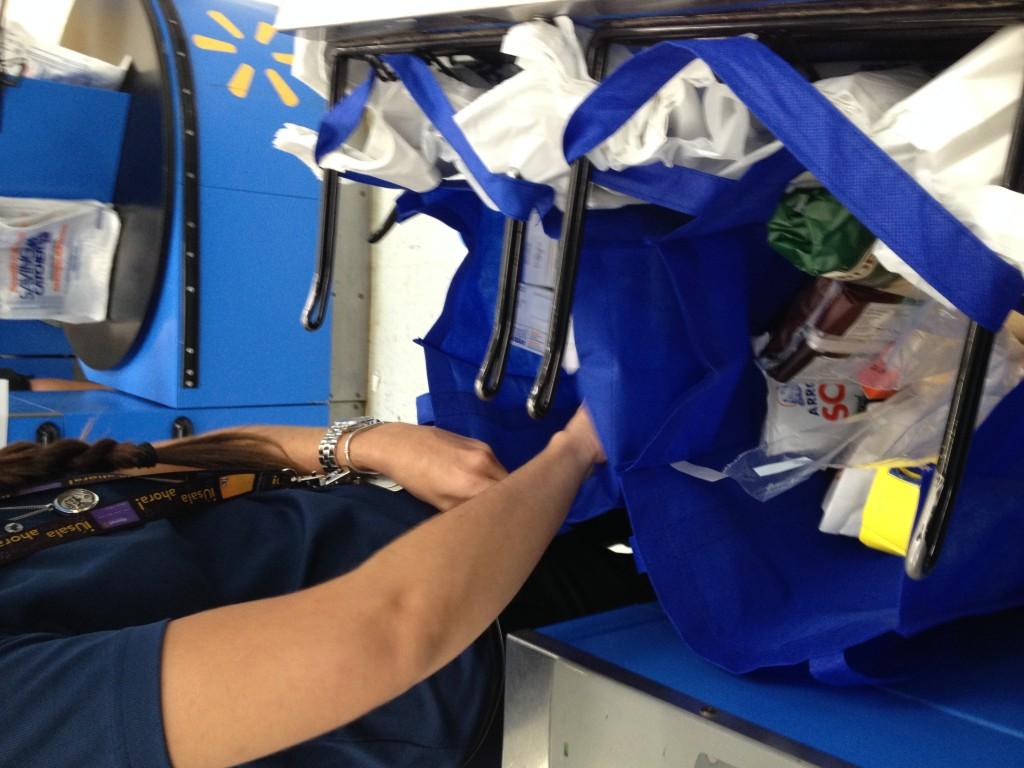 La Legislatura aprobó el pasado 17 de noviembre la prohibición del uso de bolsas plásticas en los comercios. (Por Daniella Claudio)